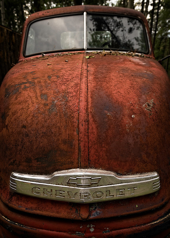 Rusty old Chev Pickup