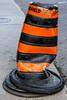 Dented Traffic Cone
