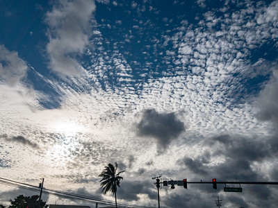 Clouds over Kalihi, Oʻahu, Hawaiʻi