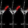 Red Pepper Martini Triple