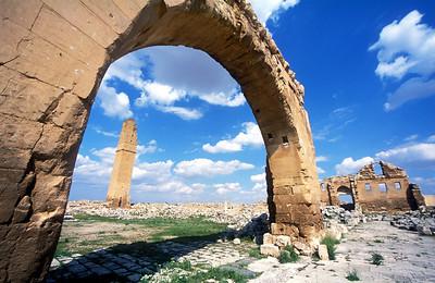 Bizantine fortress near Haran, Turkey