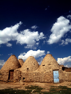 Ancinet mud houses of Haran, Turkey.