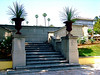 Th entrance to the Tomb of early film star, DOUGLAS FAIRBANKS