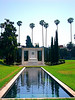 The reflections pool and Tomb of, DOUGLAS FAIRBANKS