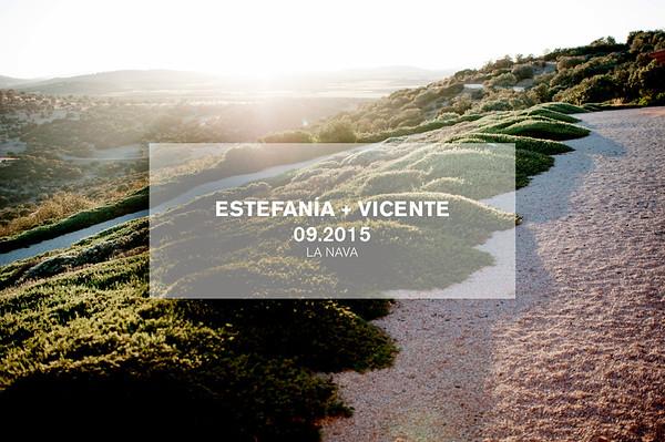 Cel | Estefania + Vicente