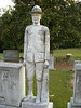 Hopewell Church cemetary, Murrayville, Georgia - Robert Elrod  - This is a lifesize monument from his loving parents - He was a GI in World War 1