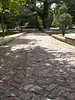 Brick path - Oakland Cemetery, Atlanta - September 8, 2006