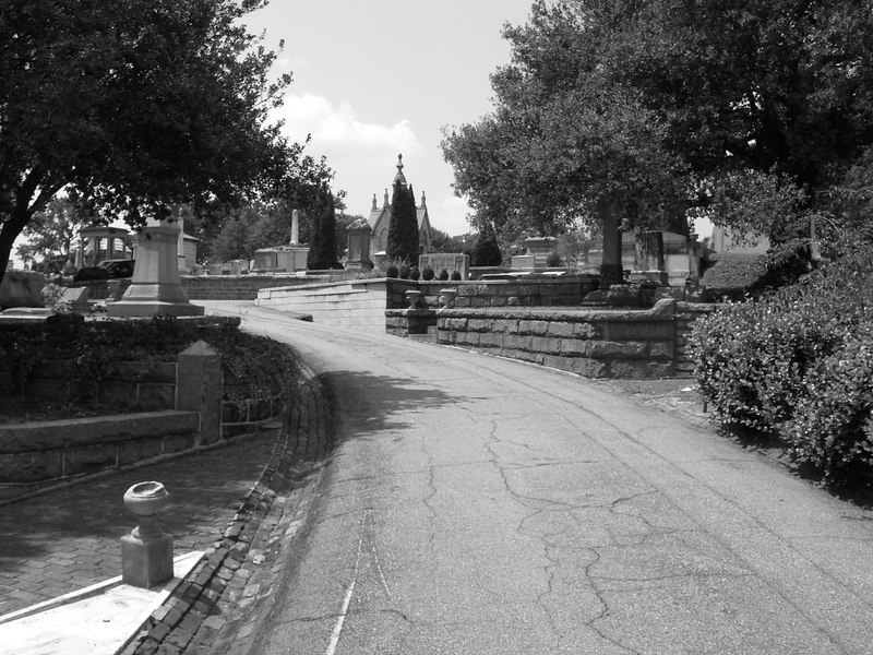 Oakland Cemetary, Cabbage town area of Atlanta, Georgia - One of the lanes
