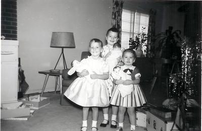 Christmas 1957, 908 Rynex Drive
