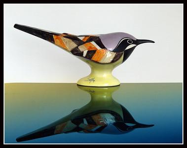 Uccellino di porcellana