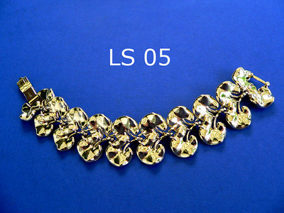 LISNER braccialetto - marcato alla chiusura metallo color oro