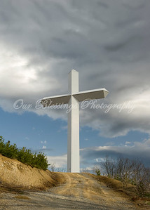 The cross above Pigeon Forge, TN