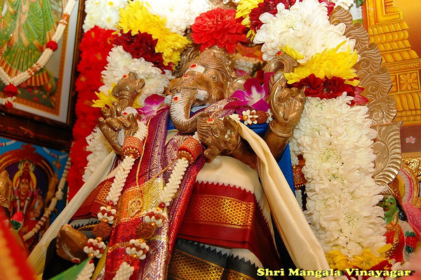 Shri Mangala Vinayagar - Presiding Deity At Home Shrine