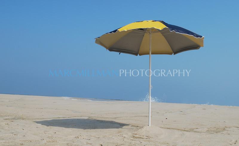 Lonely umbrella-  (Sun 6-29-08)