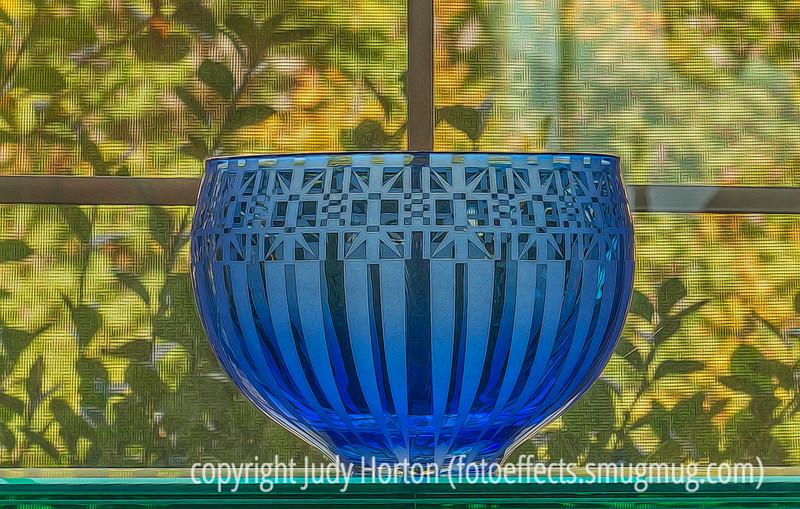 Art Glass in the Window