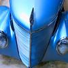 Blue Car Headlights