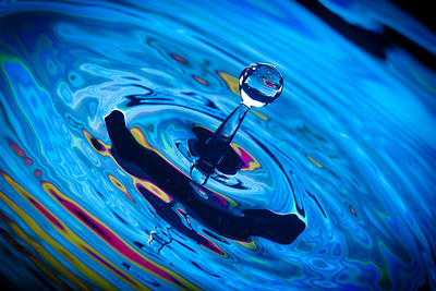 Swirl Water Drop