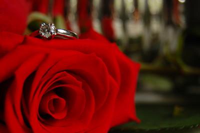 Kirsten's engagement ring
