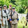 Honor Guard at Magnolia Cemetery