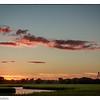 Sunset over the Ravenel Bridge