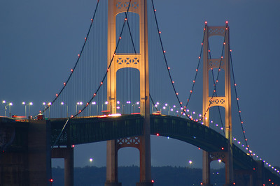 "M is for ""The Big Mac""   The Mackinac Bridge"