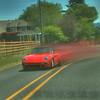 Red Zoooomin' Porsche
