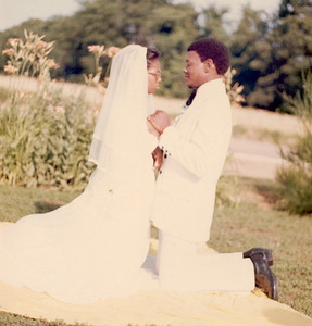 Me & Lowe on our wedding day...
