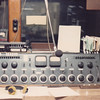 WPAQ Radio control board, Mt. Airy, North Carolina<br /> Summer, 1984