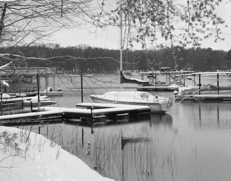 Lake Lanier/Record Breaking Snow Storm/January 10, 2011