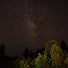 The Milky Way in Bonny Doon, California<br /> July 29, 2005