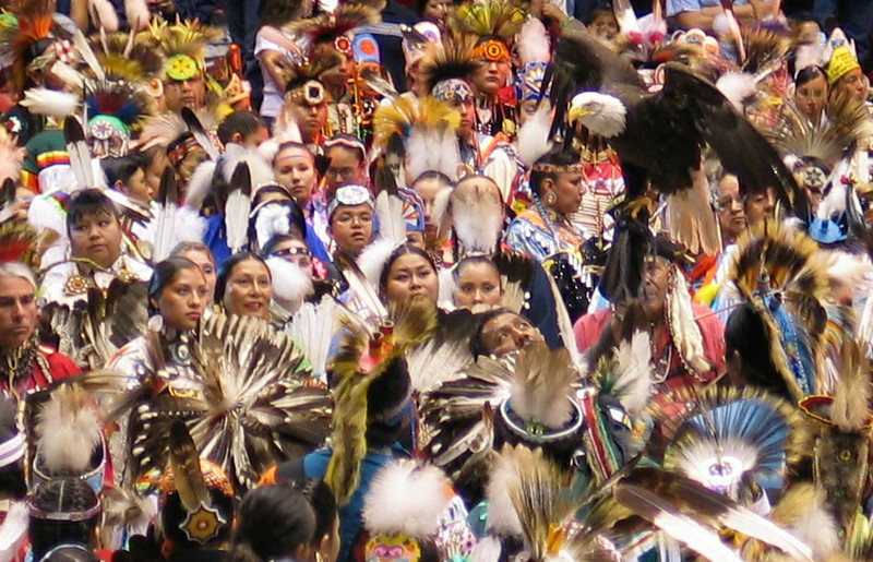 At the Gathering of Nations, April 23, 2004, Albuquerque, New Mexico