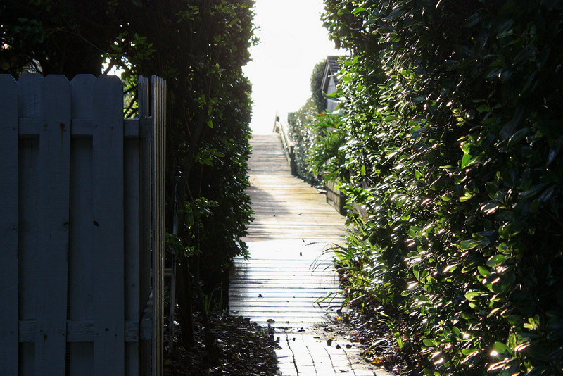 Ponte Vedra Beach House Walkway