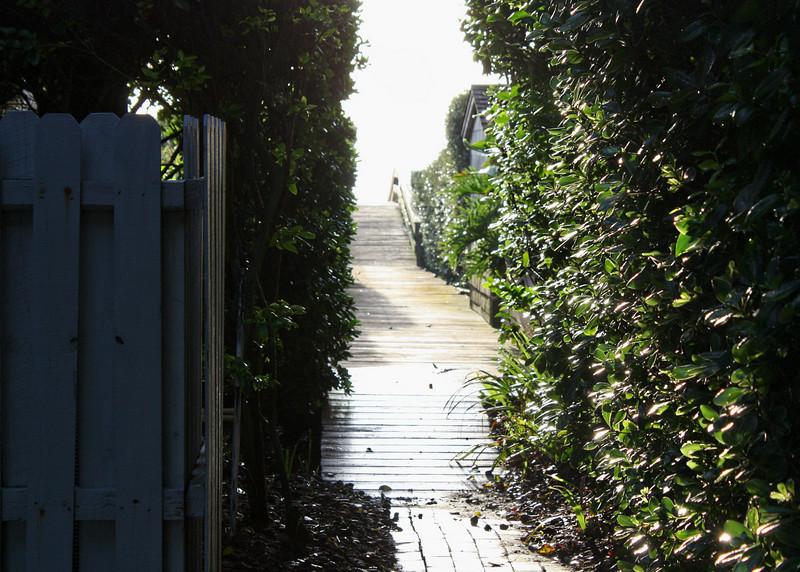Ponte Vedra Beach House Walkway
