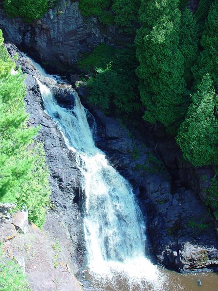 Big Manitou Falls in Pattison State Park, WI.