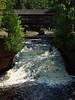 Lower Falls at Amnicon Falls State Park, just past Horton Bridge.