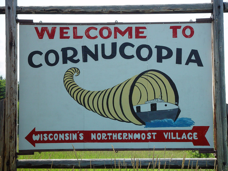 The official sign of Corny.