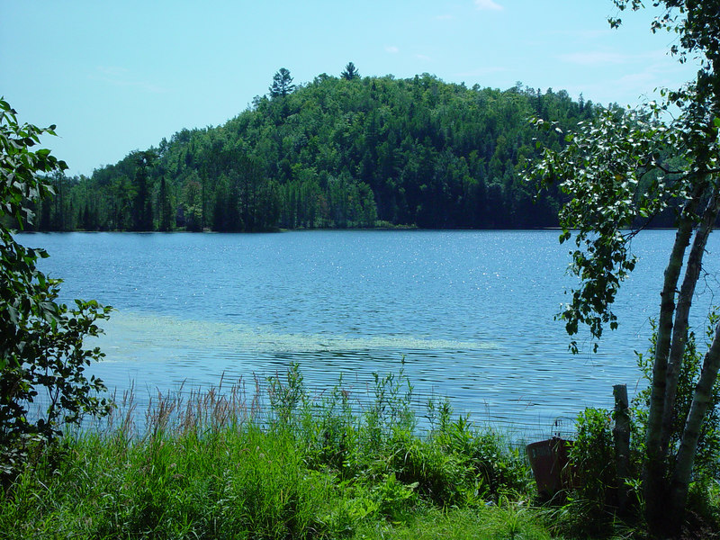 Loon Lake in Copper Falls State Park, WI.