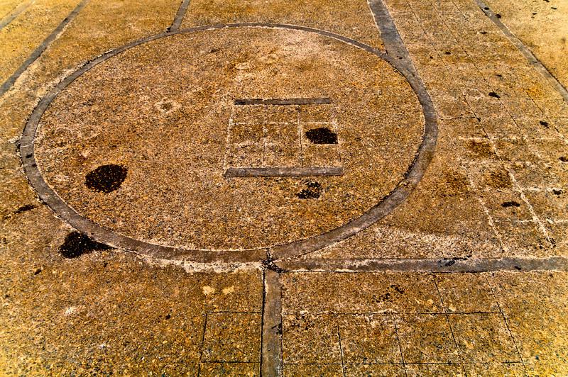 Crop Circles in Concrete