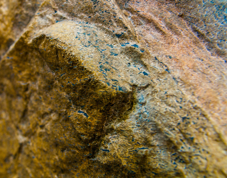 Blue Tattooed Rock Man