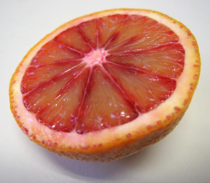 Blood orange half 5
