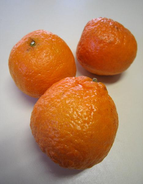 Gold Nugget tangerine - trio