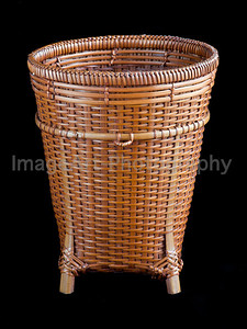Thai handwoven basket