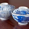 Japanese Imari porcelain rice bowls