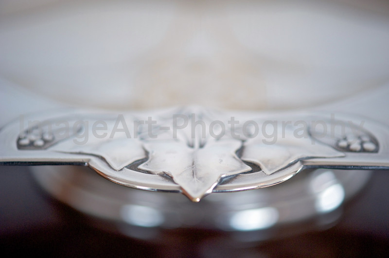 Ivy leaf WMF vintage silver bowl
