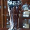 Silver Art Nouveau vase
