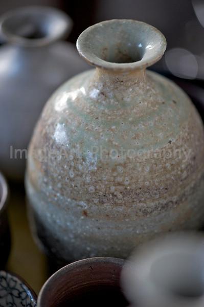 Japanese sake jar