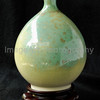 Green Glazed Vase from Japan