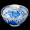 Japanese Imari porcelain rice bowl