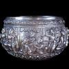 Silver Bowl from Burma (Myanmar)