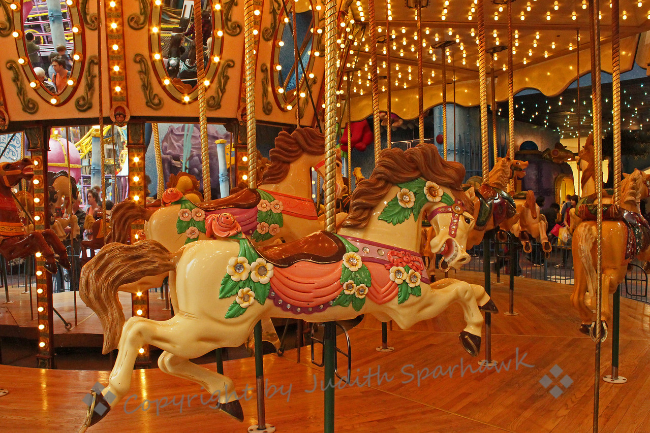 Time to Ride ~ Carousel at the West Edmonton Mall.